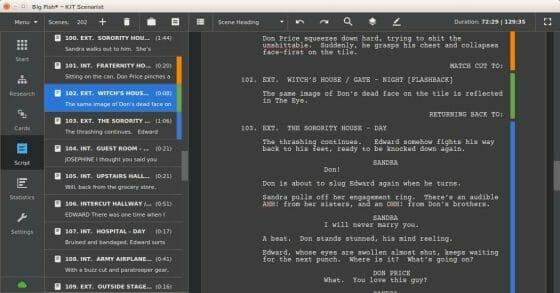 Apps gratis para formato de guion