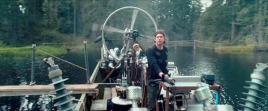 Imagen de la película Safety not guaranteed como ejemplo de escaleta de guion de cine