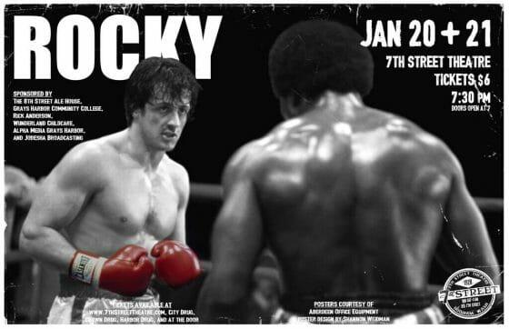 Premisa de guion de cine rocky El personaje principal es un boxeador fracasado a quien le proponen una pelea contra el campeón mundial.
